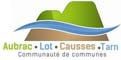 Logo Aubrac Lot Causses